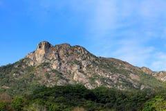 Lion Rock i Hong Kong Arkivbild
