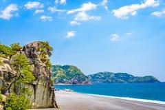 Lion Rock in Kumano, Japan Royalty-vrije Stock Fotografie