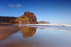 Lion Rock Piha Royalty Free Stock Image