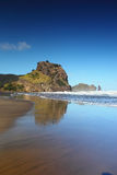Lion Rock Piha Stock Photos