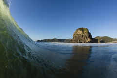 Lion Rock, Piha Royalty Free Stock Photography