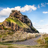 Lion Rock (Piha-Strand, Nieuw Zeeland) Royalty-vrije Stock Afbeelding
