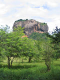 'Lion Rock' Sigiriya. A view of the ancient rock fortress 'Lion Rock' in Sigiriya, Sri Lanka Stock Images
