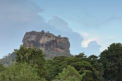 Lion Rock of Sigiriya in Sri Lanka Royalty Free Stock Image