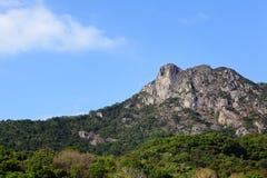 Lion Rock, symbol of Hong Kong spirit Royalty Free Stock Photos