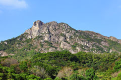 Lion Rock, symbol of Hong Kong spirit Stock Images