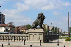 Lion's Bridge Sofia Bulgaria Royalty Free Stock Photography