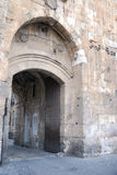 The Lion's Gate. In the Old City Walls of Jerusalem Royalty Free Stock Photos
