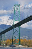 Lion's Gate Bridge Royalty Free Stock Photo