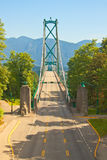 Lion's Gate Bridge Stock Photography
