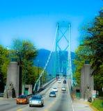 Lion& x27;s Gate Bridge Stock Photo