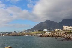 Lion's Head. A Beautiful  picturesque of Lion head with it's surrounding beauty.in Cape Town Royalty Free Stock Photo