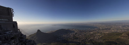 Lion's Head and Cape Town Panorama 2 Royalty Free Stock Photos