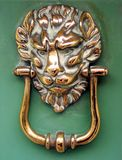 Lion's Head Door Knocker Royalty Free Stock Images