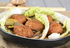 Lion's Head Meatballs Stock Images
