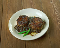 Lion`s head. Pork meatballs, dish from the Huaiyang cuisine of eastern China Royalty Free Stock Image