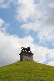 The Lion's Mound of Waterloo Stock Photography