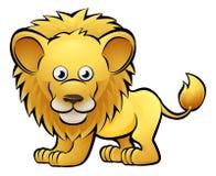 Lion Safari Animals Cartoon Character Photos stock