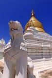 Lion @ Sagaing Mandalay Stock Photo