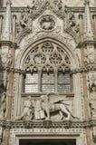 Lion of Saint Mark Doge's Palace Venice Italy Royalty Free Stock Photo