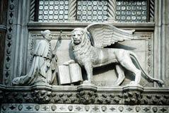 Lion of Saint Mark stock photos