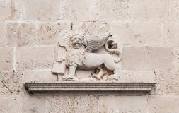 Lion of Saint Mark, symbol of Venice Stock Photo