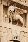 Lion of Saint Mark. Zadar. Croatia Stock Photography