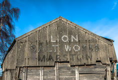 Lion Salt Works Stock Images