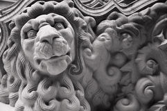 Lion Sculpture_01 Royalty Free Stock Image