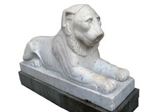 Lion Sculpture_03 Stock Photography