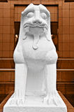 Lion Sculpture Royalty Free Stock Photos