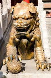 Lion sculpture Royalty Free Stock Photography