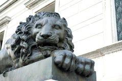 Lion Sculpture stock afbeeldingen