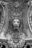 Lion Sculpture Imagem de Stock Royalty Free