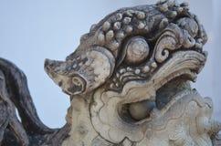 Lion Sculpture Lizenzfreies Stockfoto