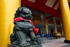 Lion Sculpture Imagen de archivo