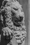 Lion Sculpture Fotografie Stock Libere da Diritti