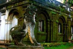Lion Sculpture fotografia stock libera da diritti