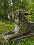 Lion Sculpture Fotografia Stock