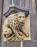 Lion sculpture closeup, Munich Germany Stock Image