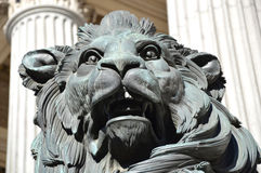 Lion sculpture Royalty Free Stock Photo