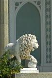 Lion sculpture near Vorontsov Palace Royalty Free Stock Image