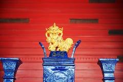 Lion sculpture Stock Image