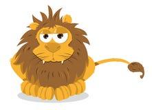 Lion Sitting Royalty Free Stock Photos