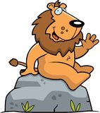 Lion Sitting Royalty Free Stock Images