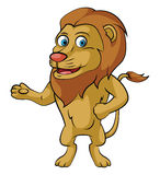 Lion Smile Stock Images