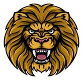 Lion Sports Mascot Photos libres de droits