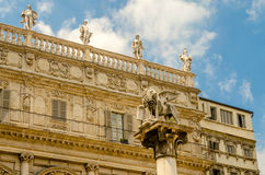 The Lion of St. Mark, Verona Stock Photography