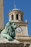 Lion Statu in Arles, France Stock Photos