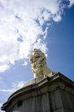 Lion Statue. Statue of a Lion taken near the London Eye Stock Photos